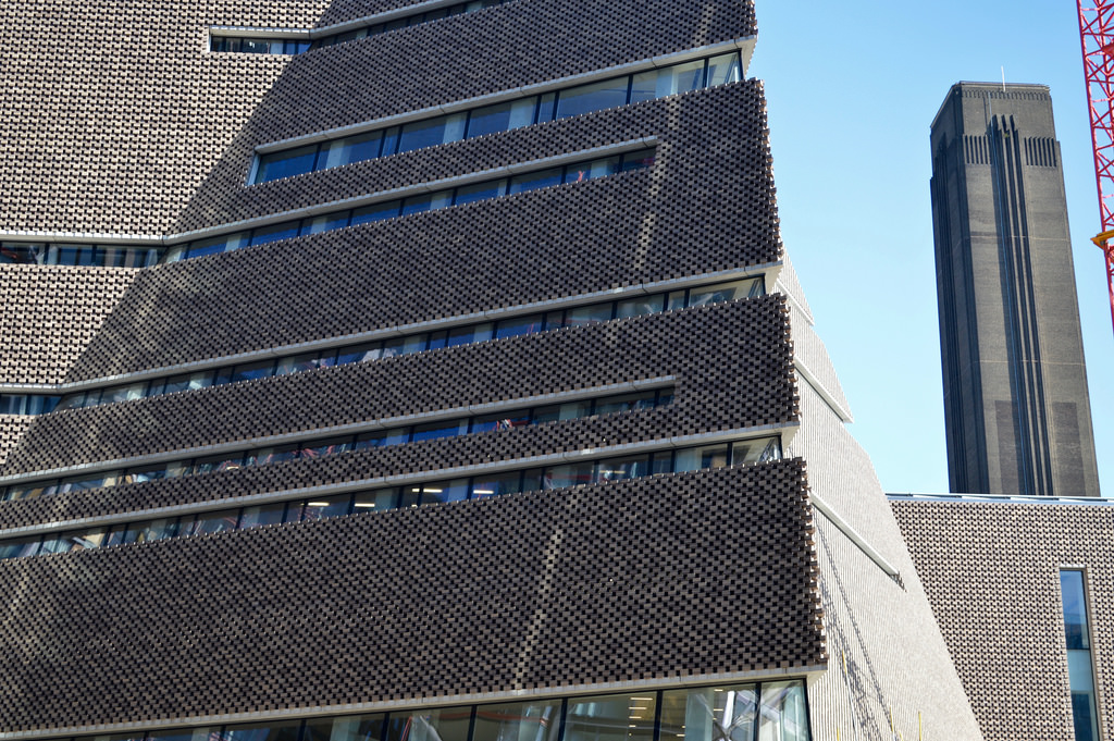 Taylor alden when is a brick not a brick for Tate modern building design