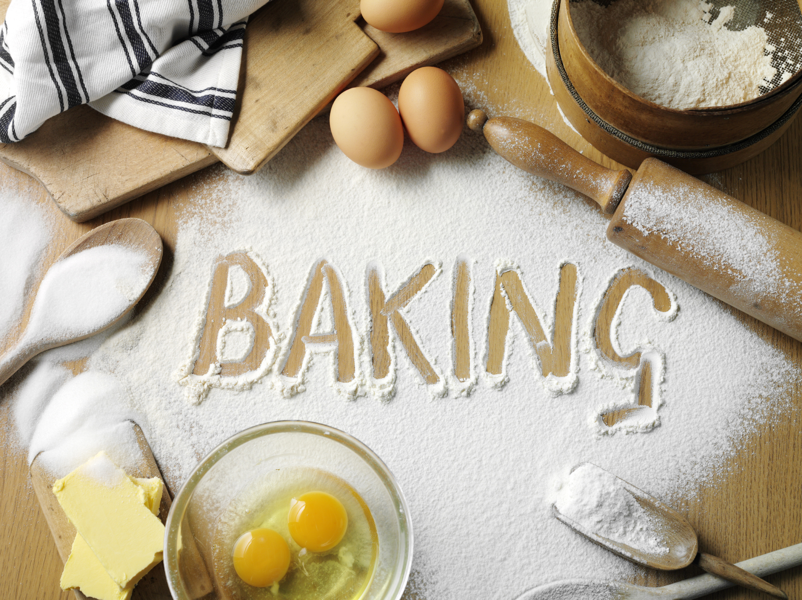 Ingredients In Baking Cakes And Their Uses